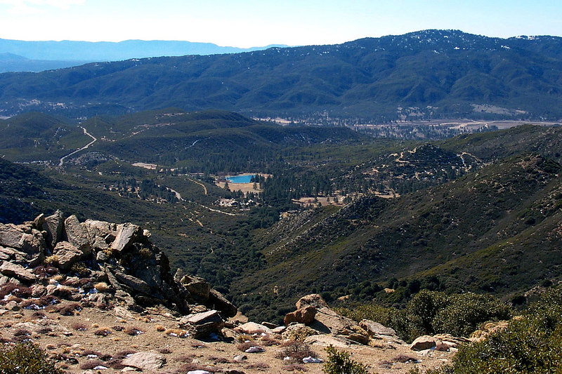 View from Pyramid Peak.