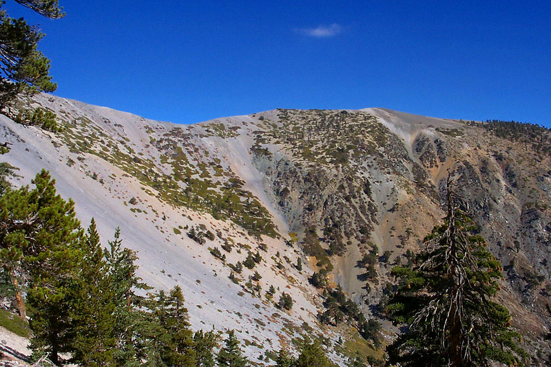 View of the Baldy Bowl.