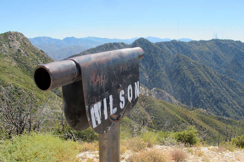 This one is marked Mt Wilson. They are just empty tubes used to locate points of interest.