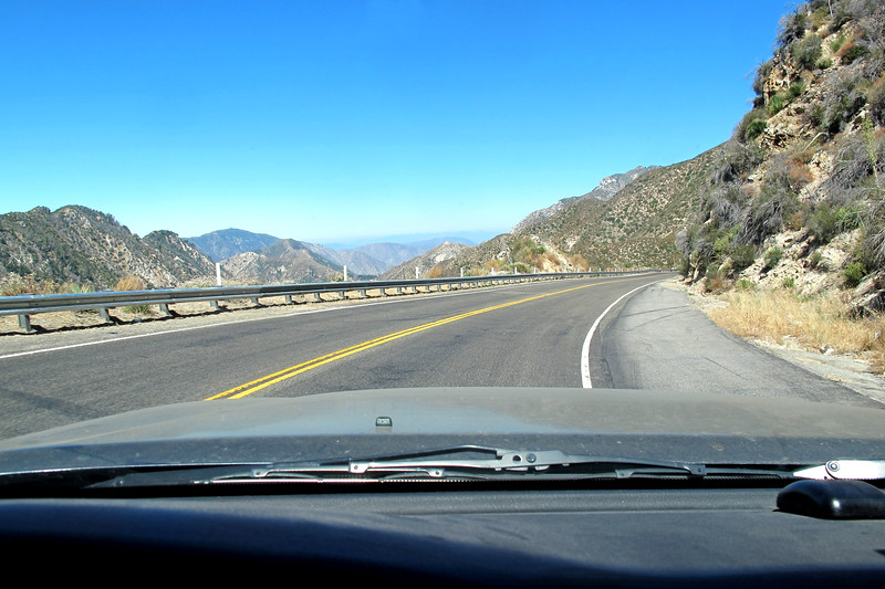 Driving down the Angels Crest Highway. This was a fun short hike with great views. <br /> <br /> THE END