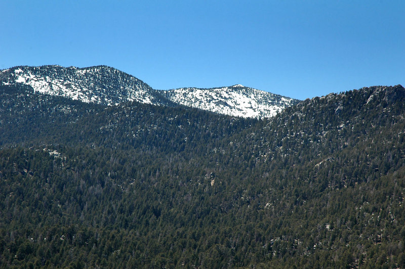 Zoomed in on Jean and San Jacinto Peaks.