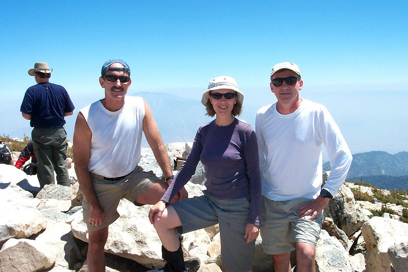 Group shot on the summit at 11,499 feet.