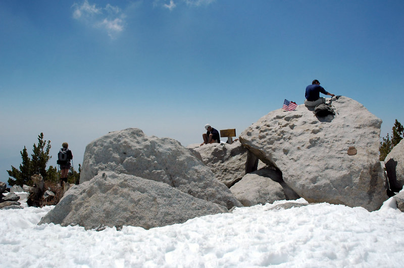 View of the summit.