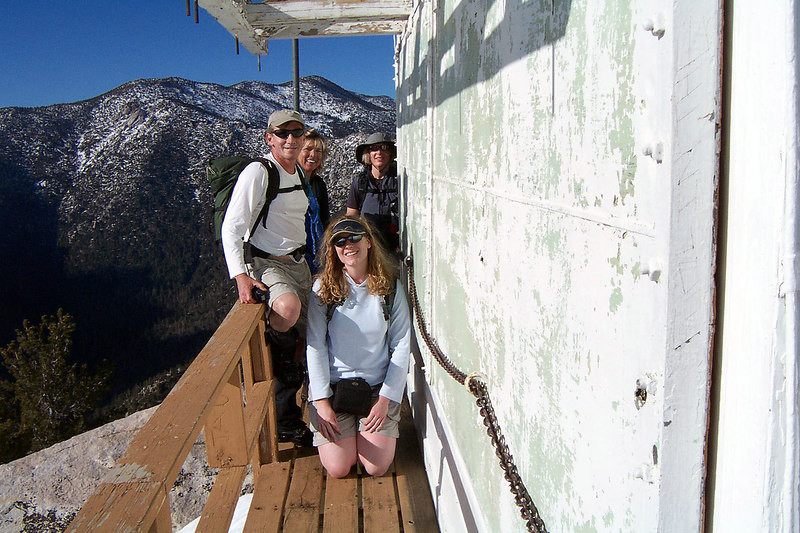 Bill took this shot of us on the lookout tower.