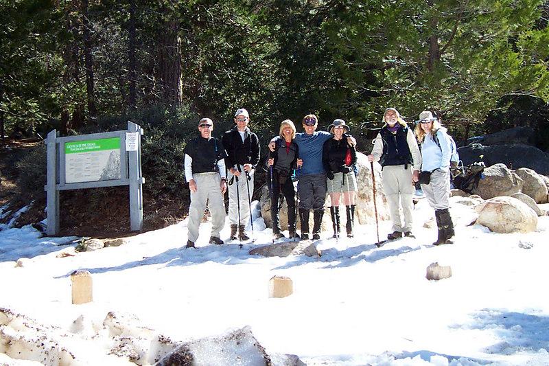Group shot at Humber Park at about 6,500 feet. Joe(me), James, Sooz, Bill, Kathy, Phil and Tara.