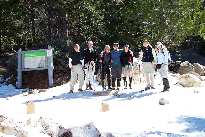 Group shot at Humber Park at about 6,500 feet. Joe(me), James, Sooz, Bill, Kathy, Phil and Tara.