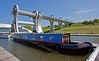 Barges at Falkirk Wheel