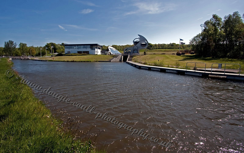 Falkirk Wheel Complex and Canal