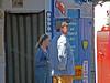 Vanessa Hehir (Rosie Cartwright) and  David Lonsdale (David Stockwell)