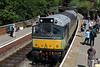 D7628 Diesel at Pickering Station - 20 June 2011