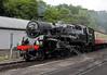 80072 Steam Train - 24 June 2011