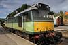 Grosmont Station - Diesel Loco - Sybilla - D7628 - 30 June 2011