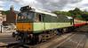 Grosmont Station - Diesel Loco - Sybilla  D7628 - 30 June 2011