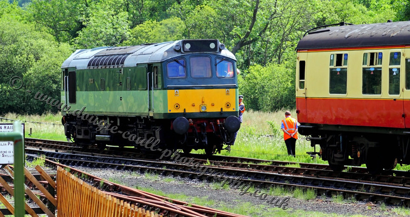 Diesel D7628 - Sybilla - Levisham station