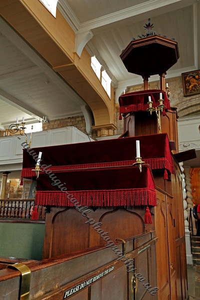 St Mary's Church Pulpit - Whitby