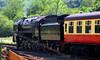 92214 Leaves Levisham Station