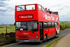 Whitby Red Tour Bus