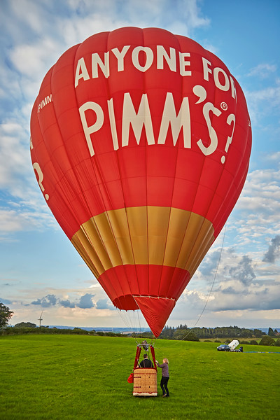 Strathaven Balloon Event over Lanarkshire - 28 August 2016