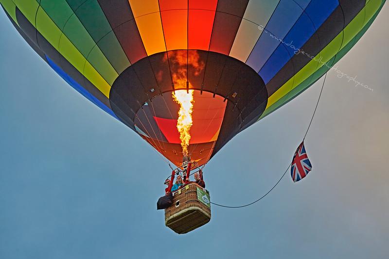 Strathaven Balloon Event in Lanarkshire - 30 August 2015