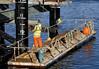 Men at Work - Oban Pier