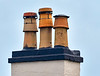 Chimney Pots at the Cut, Greenock - 15 February 2017