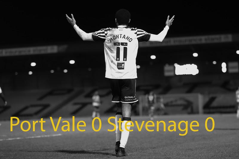 Port Vale v Stevenage 23/02/2021