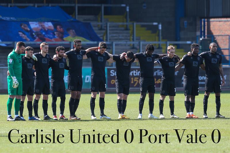 Carlisle v Port Vale 17/04/2021