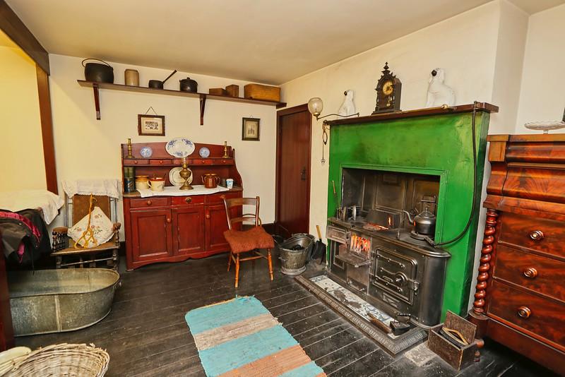 Vintage House at Sumerlee Museum, Coatbridge - 30 November 2016