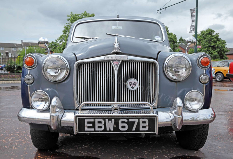 Classic Rover P4 Car - Summerlee Museum - 30 June 2012