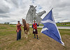 Zippo's Circus at with the Kelpies - 28 June 2014