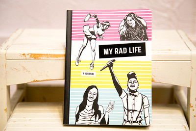 """""""My Rad Life, A Journal"""" Product Photographer in Fort Collins, CO"""