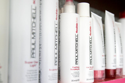 Paul Mitchel His & Her Salon in Fort Collins, CO Product Photographer