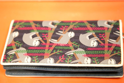 Sloth Wallet for Sale - Product Photographer at Clothes Pony in Old Town Fort Collins, CO