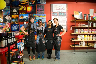 Painting With a Twist in Fort Collins, CO - Employee Portrait