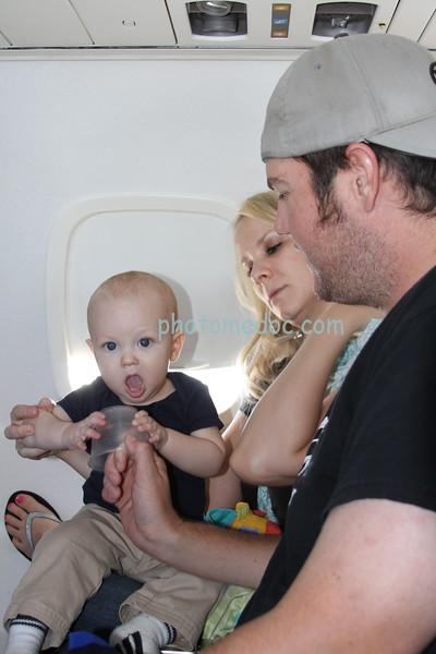 Paul 09 31 11 on the plane