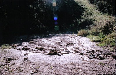 Road Damage from Heavy Rains