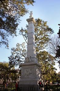 Pulaski Monument Monterey Square Savannah, GA 12/2012