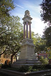 Gordon Monument Wright Square Savannah, GA 12/2012