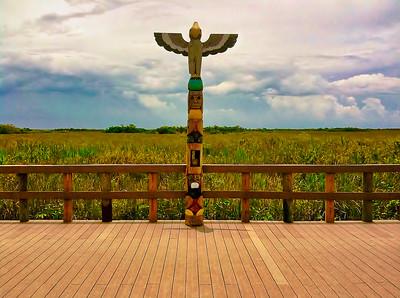 Everglades Totem Pole