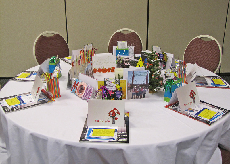 We participated in one of the Chamber Lunches representing Send Out Cards.