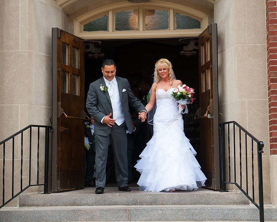 Angie & Sam wedding