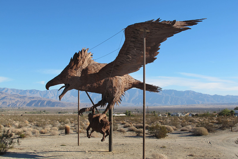 """This one is called """"Incredible Wind God Bird with prey"""". It's the same size as the other bird."""