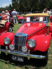 03/12/06 - British car show in Canberra. MG TF.