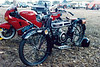 1993 May - Old Douglas Motorbike at Bundaberg Show