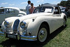 03/12/06 - British car show in Canberra. The Jaguar XK140.