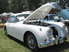 03/12/06 - British car show in Canberra. A Jaguar XK150.