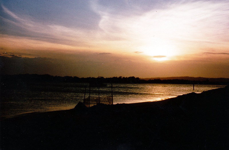 1978 Dec - Sunset at Ballina