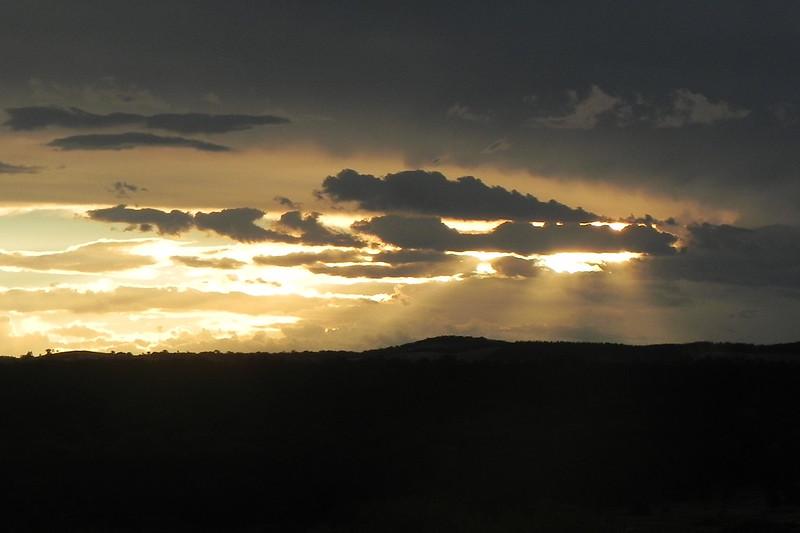 30/12/2016 - Late afternoon cloudburst