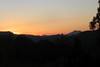 15/08/2017 - Sunset on Lions Road, Border Ranges, NSW