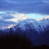 23/10/1999 - Last of The Sun Hitting Western Slopes on West Coast, NZ
